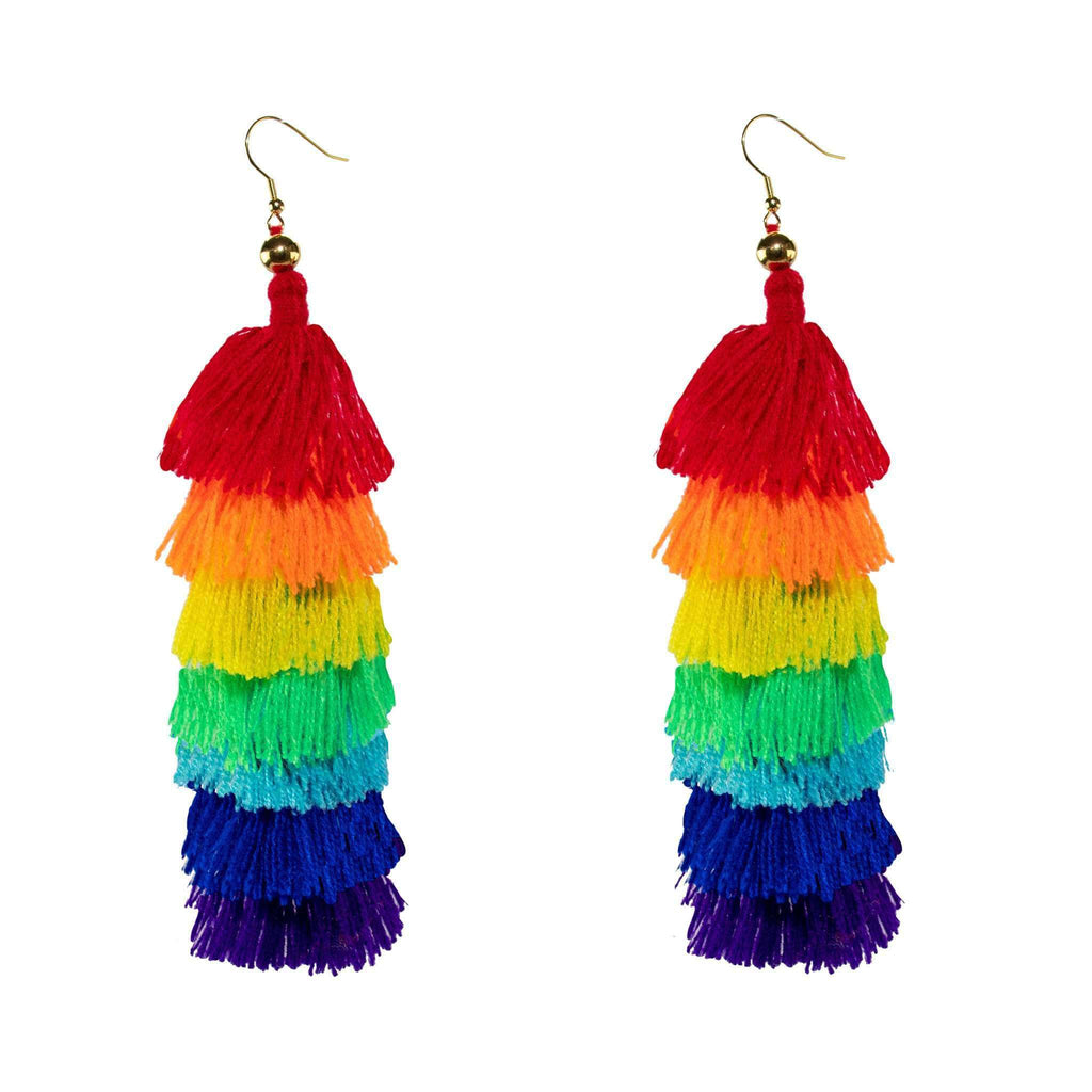 Rainbow Cascade Earrings - Josephine Alexander Collective
