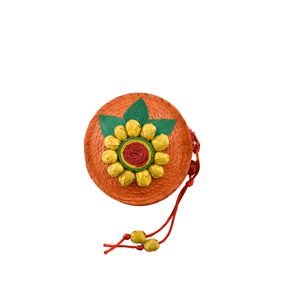 Roxy Coin Purse in Orange # 1 - Josephine Alexander Collective