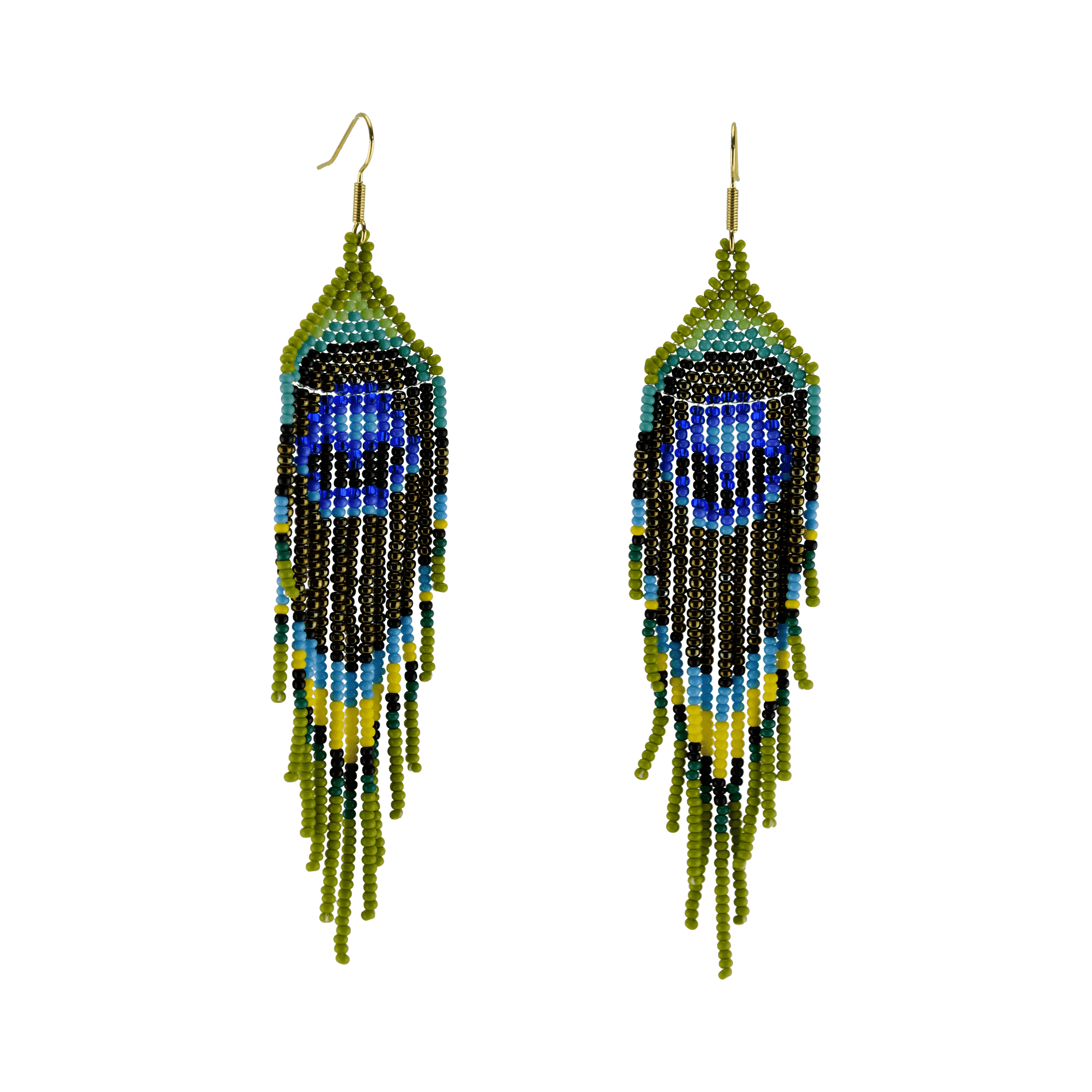 Click to shop - The Royal Peacock Earrings