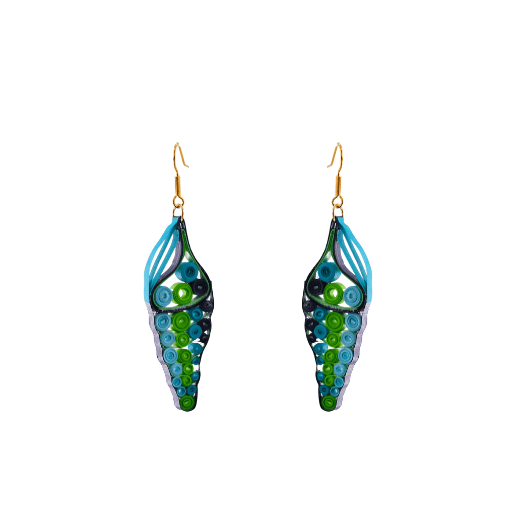 Sabra Seashell Earrings - Josephine Alexander Collective