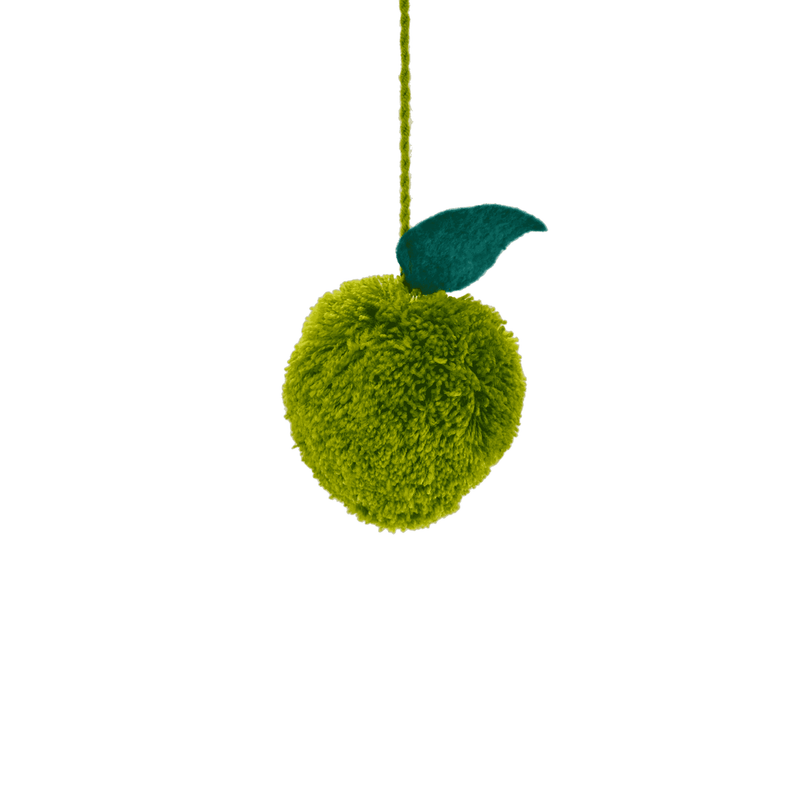 Fruit Poms- Green Apple Pom - Josephine Alexander Collective