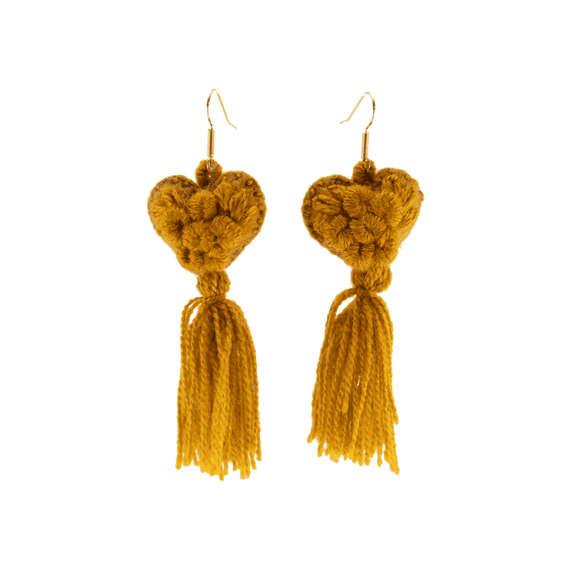The Love-ly Earrings in Toffee- Medium