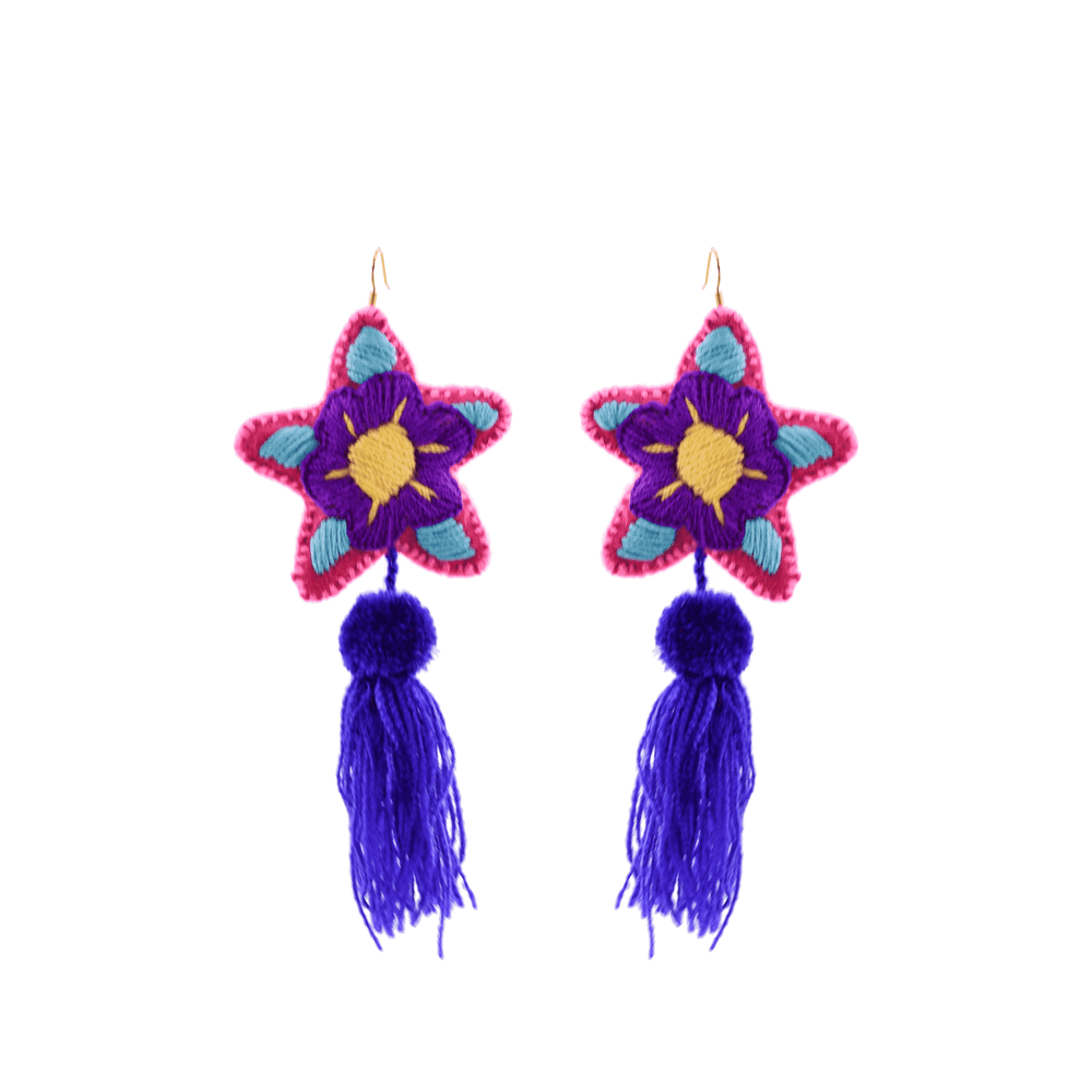 Star Tassel Earrings # 8