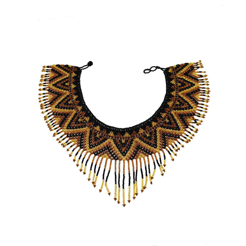 The Collar Necklace - The Aztec - Josephine Alexander Collective