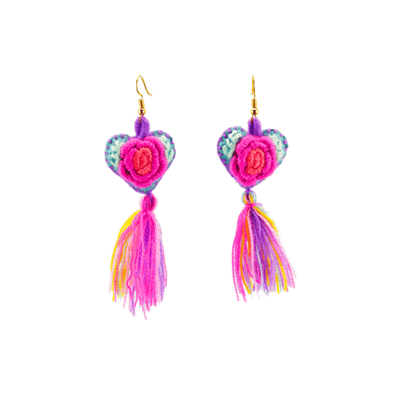 The Love-ly Earrings in My Little Rainbow- Medium - Josephine Alexander Collective