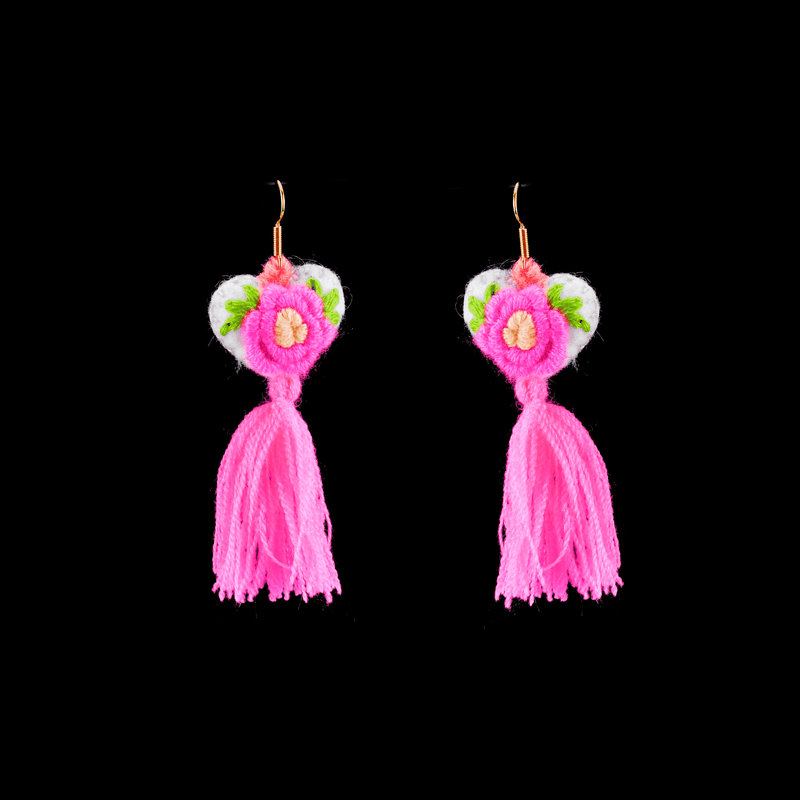 The Love-ly Earrings in Primrose- Medium - Josephine Alexander Collective