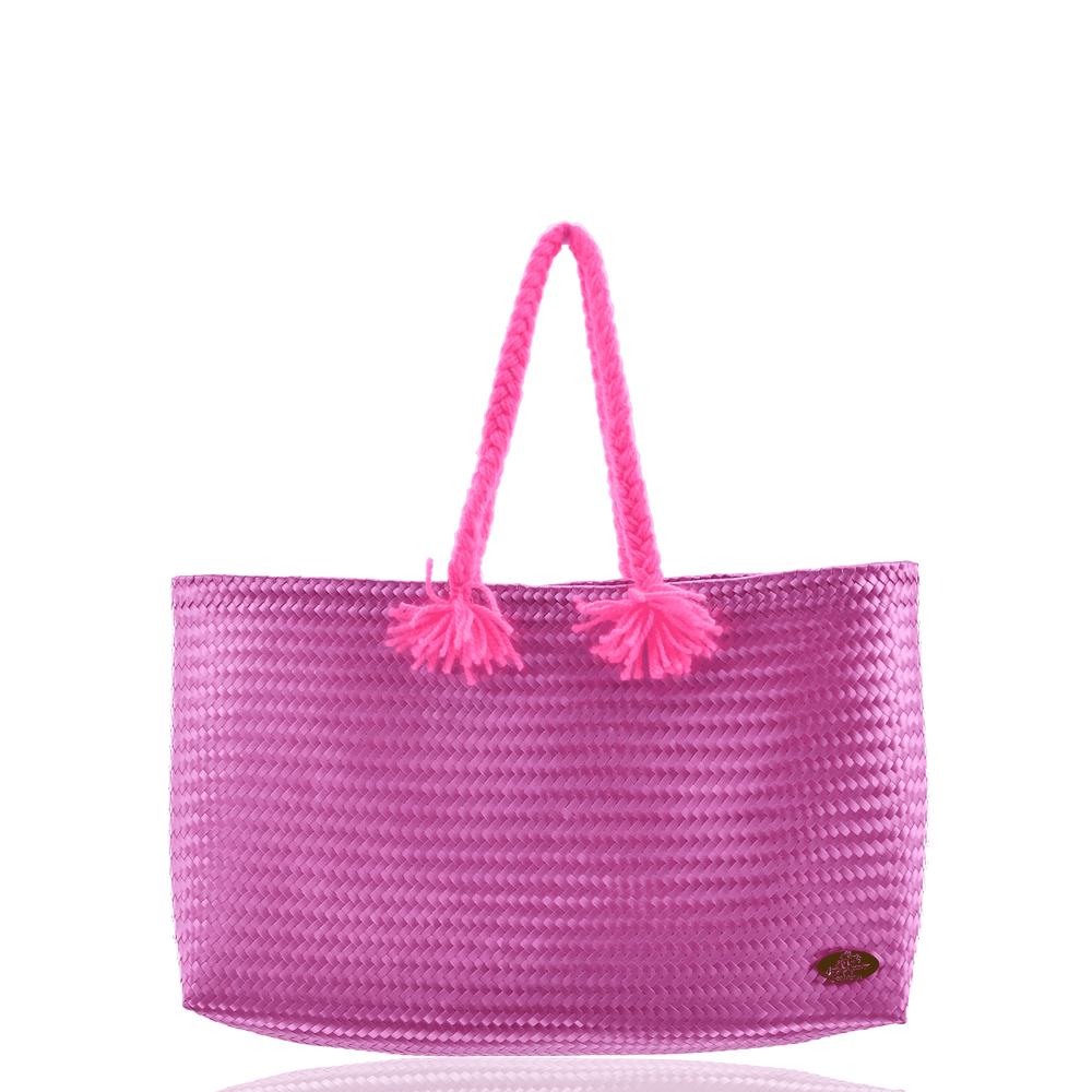 The Nicky Beach Bag in Rosé All Day