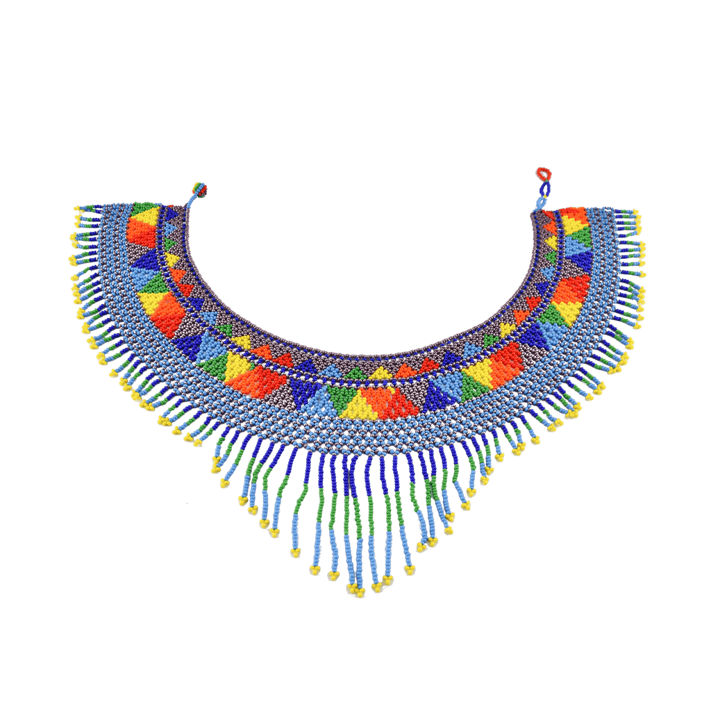 The Rainbow Collar Necklace #1 - Josephine Alexander Collective