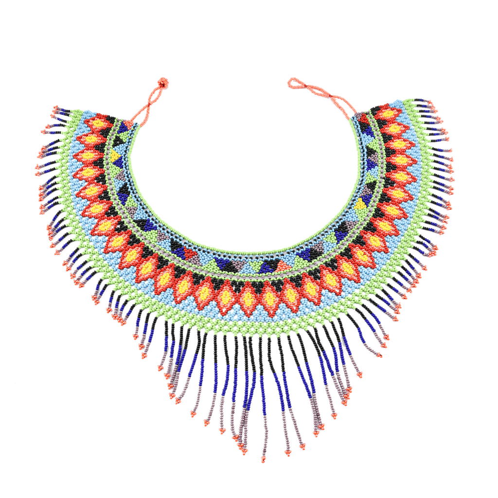 The Rainbow Collar Necklace #3 - Josephine Alexander Collective