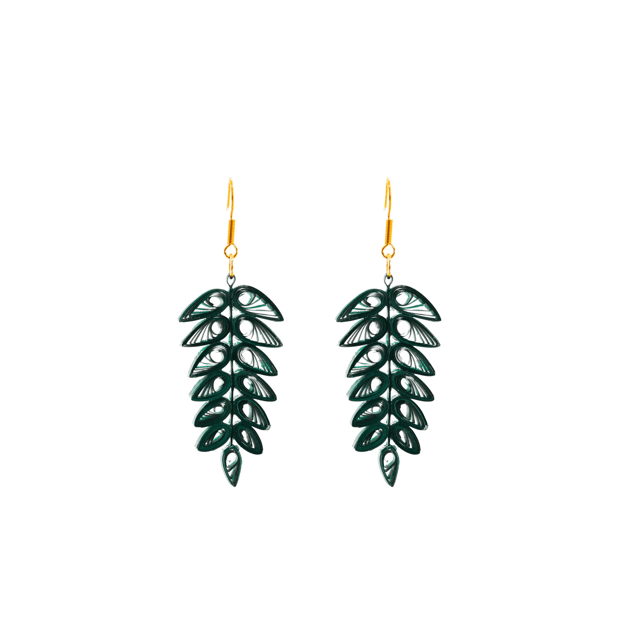 Click to shop - The Tracy Tropical Frond Earrings
