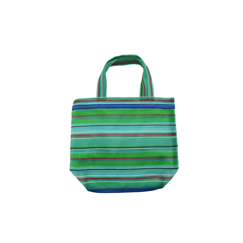 Small Tote Bag in Green - Josephine Alexander Collective