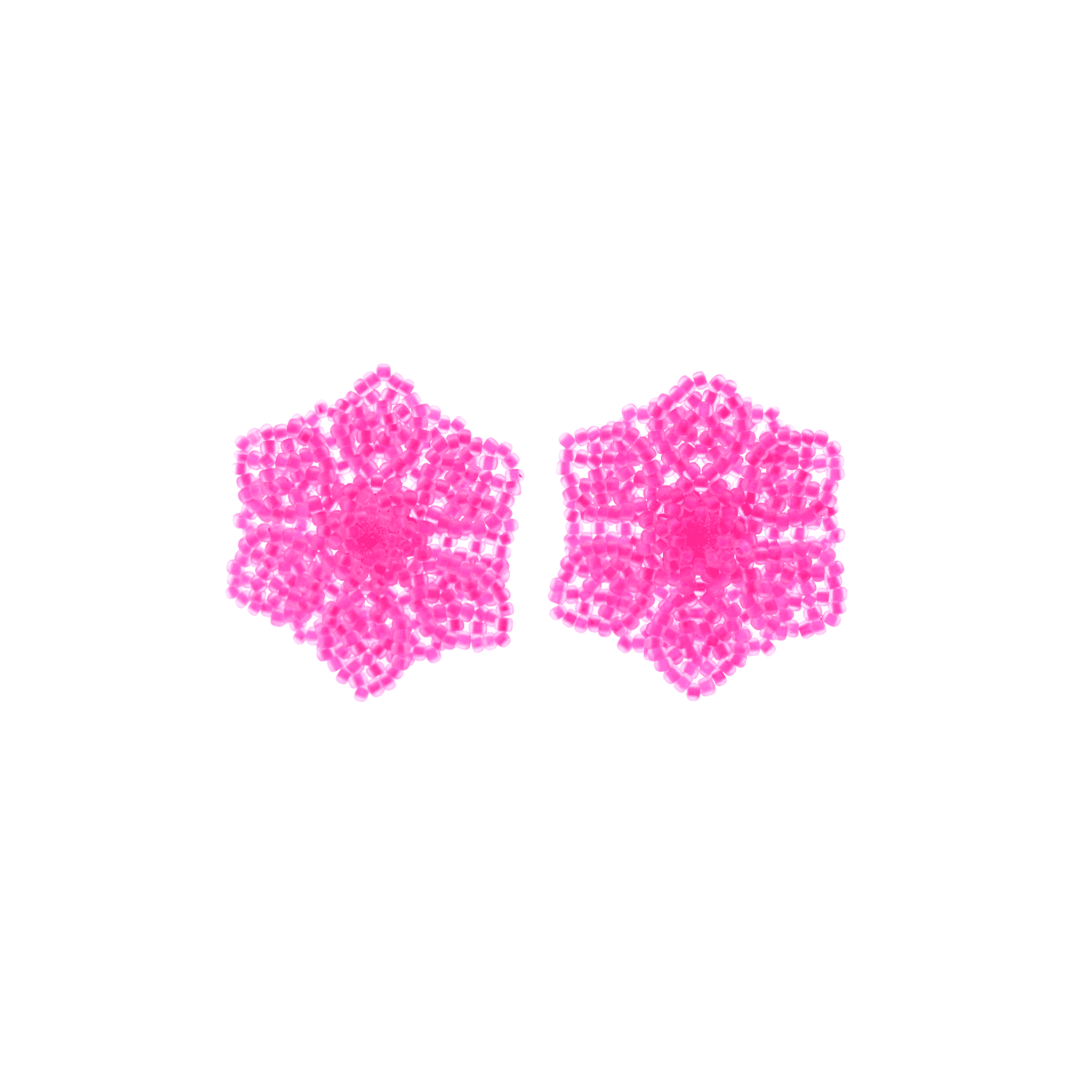 Click to shop all - Neon Wild Flower Earrings