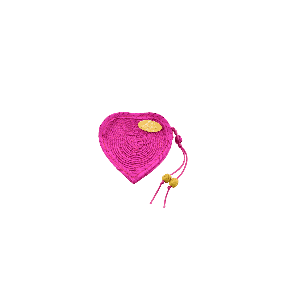 Love Heart Coin Purse in Pink
