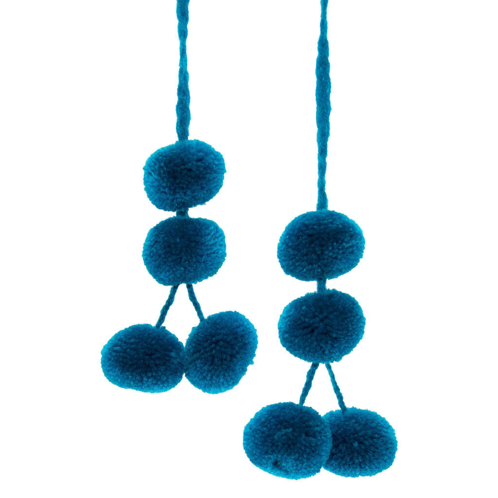 Cusco Pom Strand in Blue Hawaiian - Josephine Alexander Collective