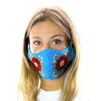 Rosita Mask - Blue - Josephine Alexander Collective
