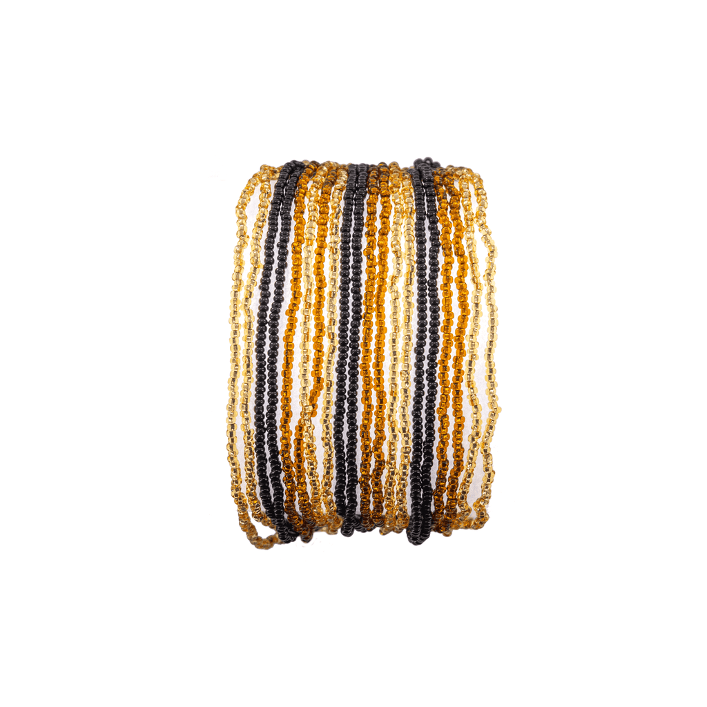 Layered Bracelet in Espresso Martini - Josephine Alexander Collective
