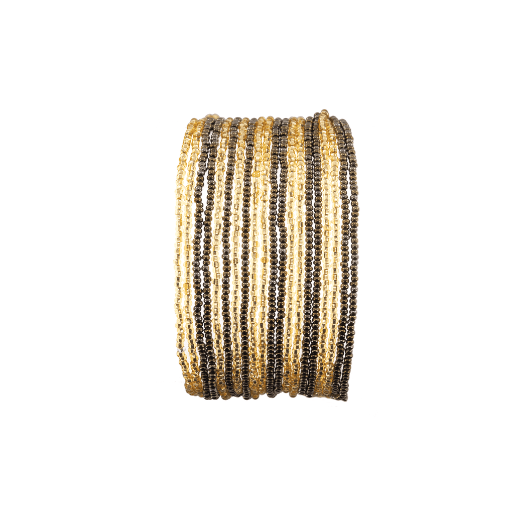 Layered Bracelet in Champagne - Josephine Alexander Collective