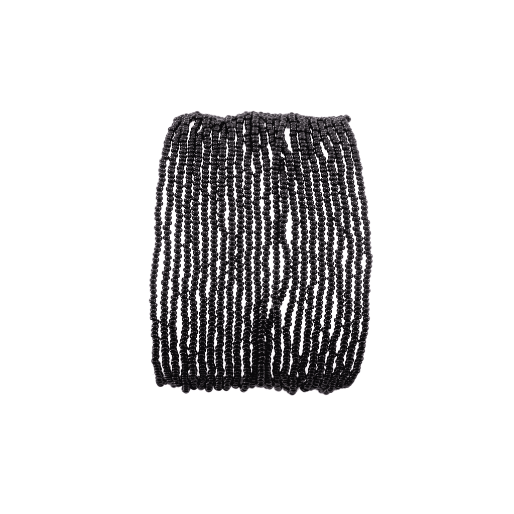 Layered Bracelet in Black - Josephine Alexander Collective