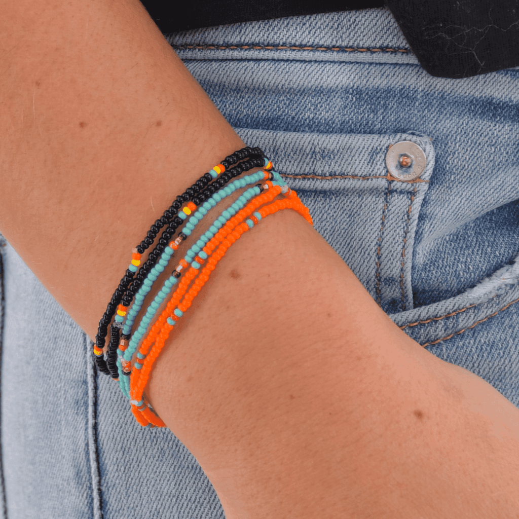 Kokomo Beaded Bracelet Stack - Josephine Alexander Collective