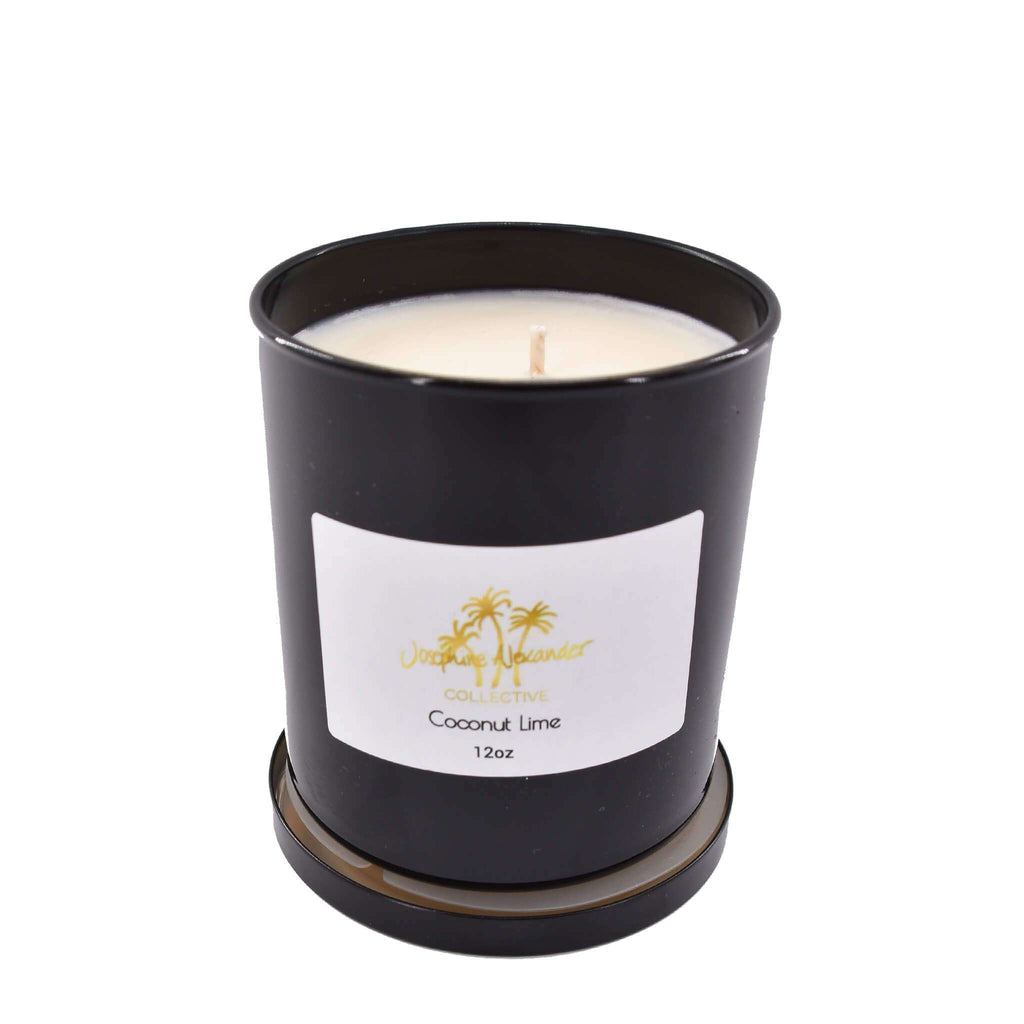 Coconut Lime Soy Wax Candle - Josephine Alexander Collective