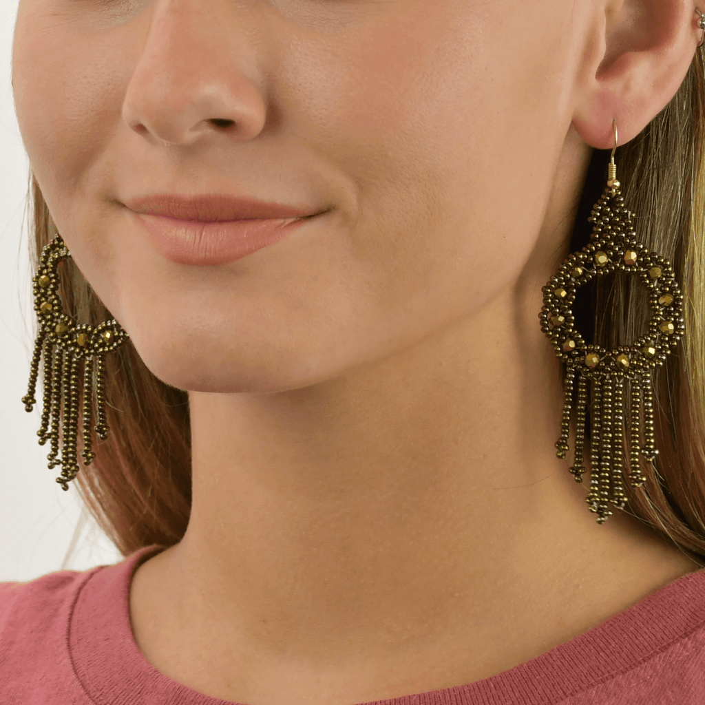 Dreamer Earrings in Bronze - Josephine Alexander Collective