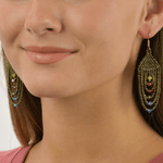 Empire Earrings in Copper Candy - Josephine Alexander Collective