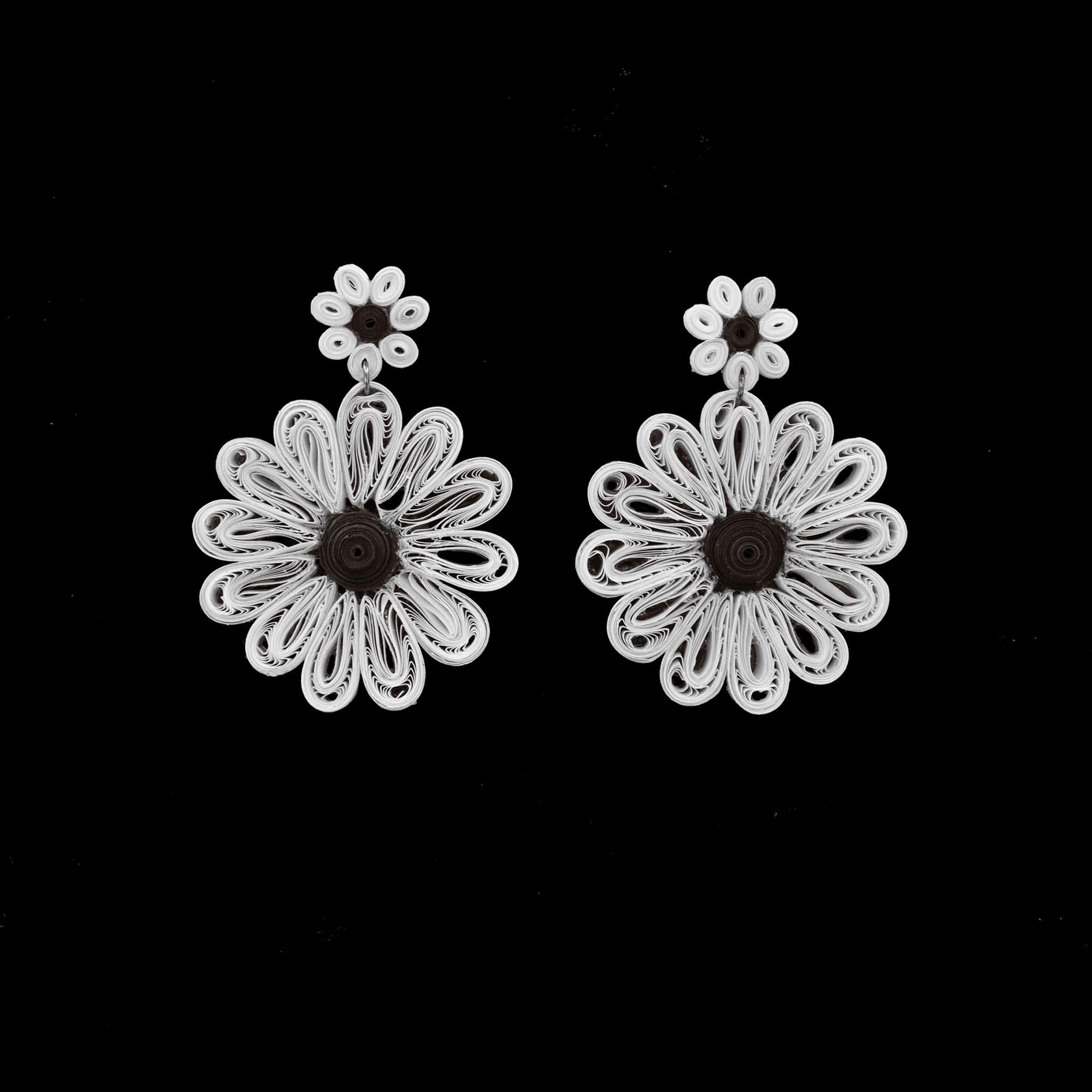 Click to shop - The Daisy Flower Earrings