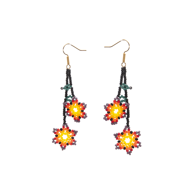 Ivy Earrings in Sunset - Josephine Alexander Collective