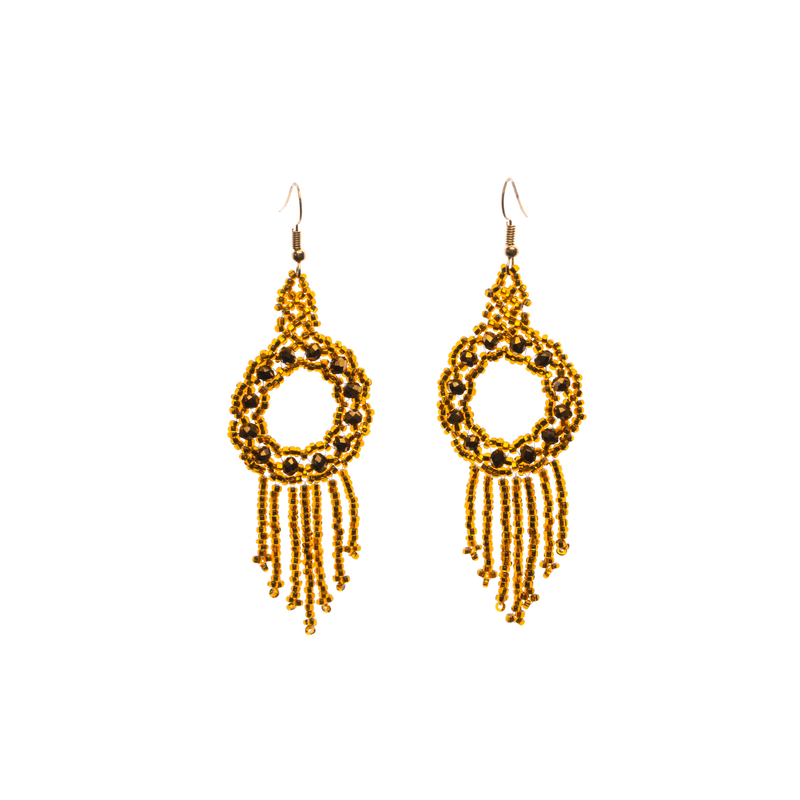 Dreamer Earrings in Amber - Josephine Alexander Collective