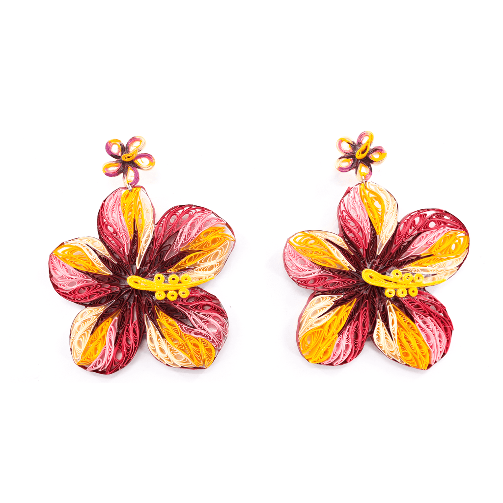 Aloha Earrings in Passionfruit