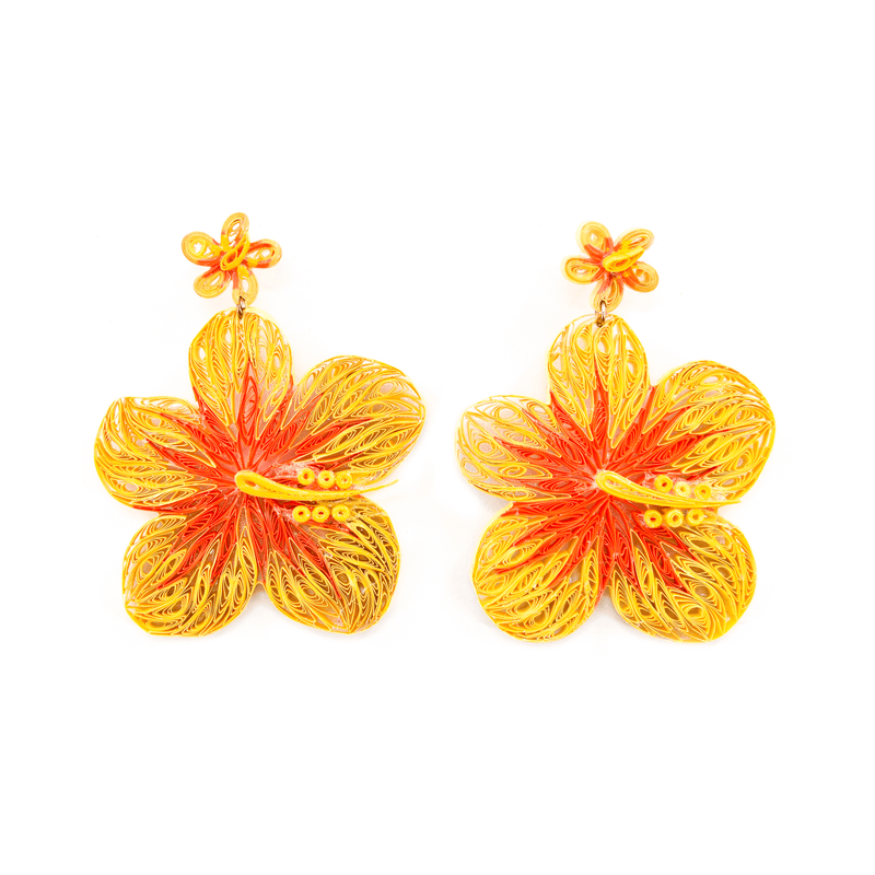 Aloha Earrings in Sunshine