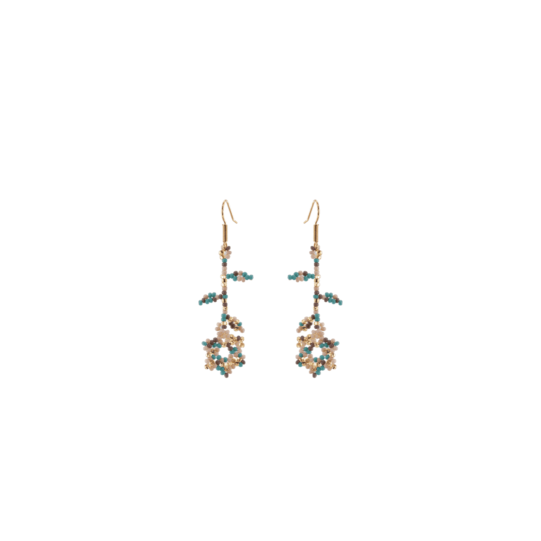 Click to shop - The Spring Blossom Beaded Earrings