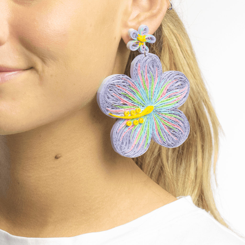 Aloha Earrings in Cosmos