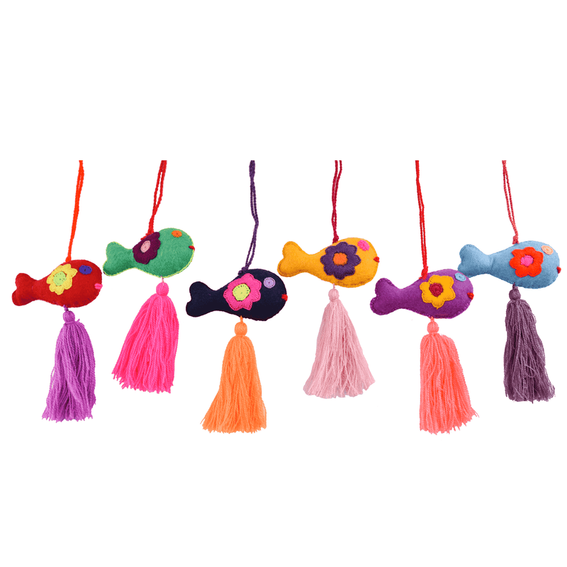 Animal Pom- Fish Pom Tassel - Josephine Alexander Collective