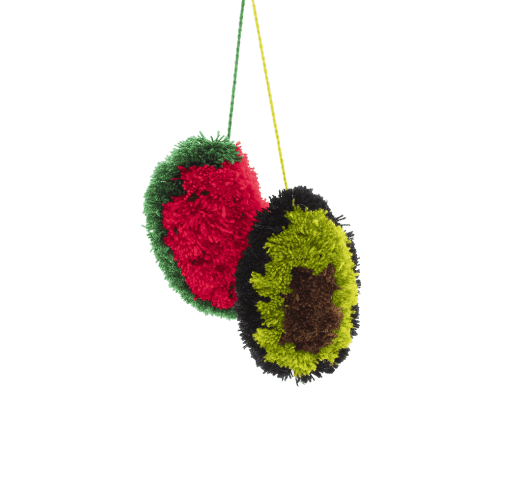 Juicy Poms - Watermelon + Avocado - Josephine Alexander Collective
