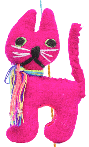 Animal Pom- Cat - Josephine Alexander Collective