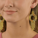 Dreamer Earrings in Pot of Gold - Josephine Alexander Collective