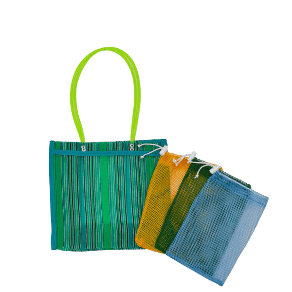 Farmer's Market Pack in Green- Small