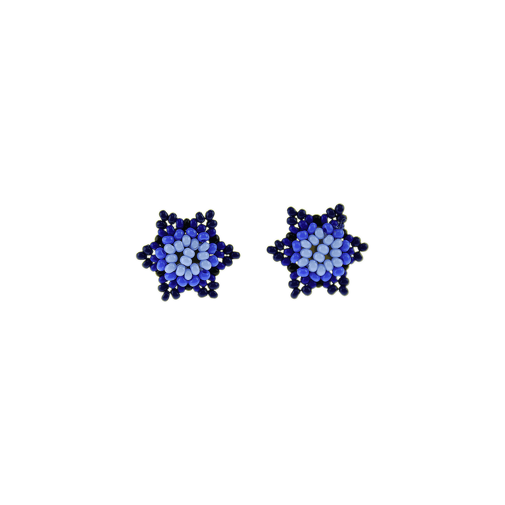 Estrella Stud Earrings in Royal Blue - Josephine Alexander Collective