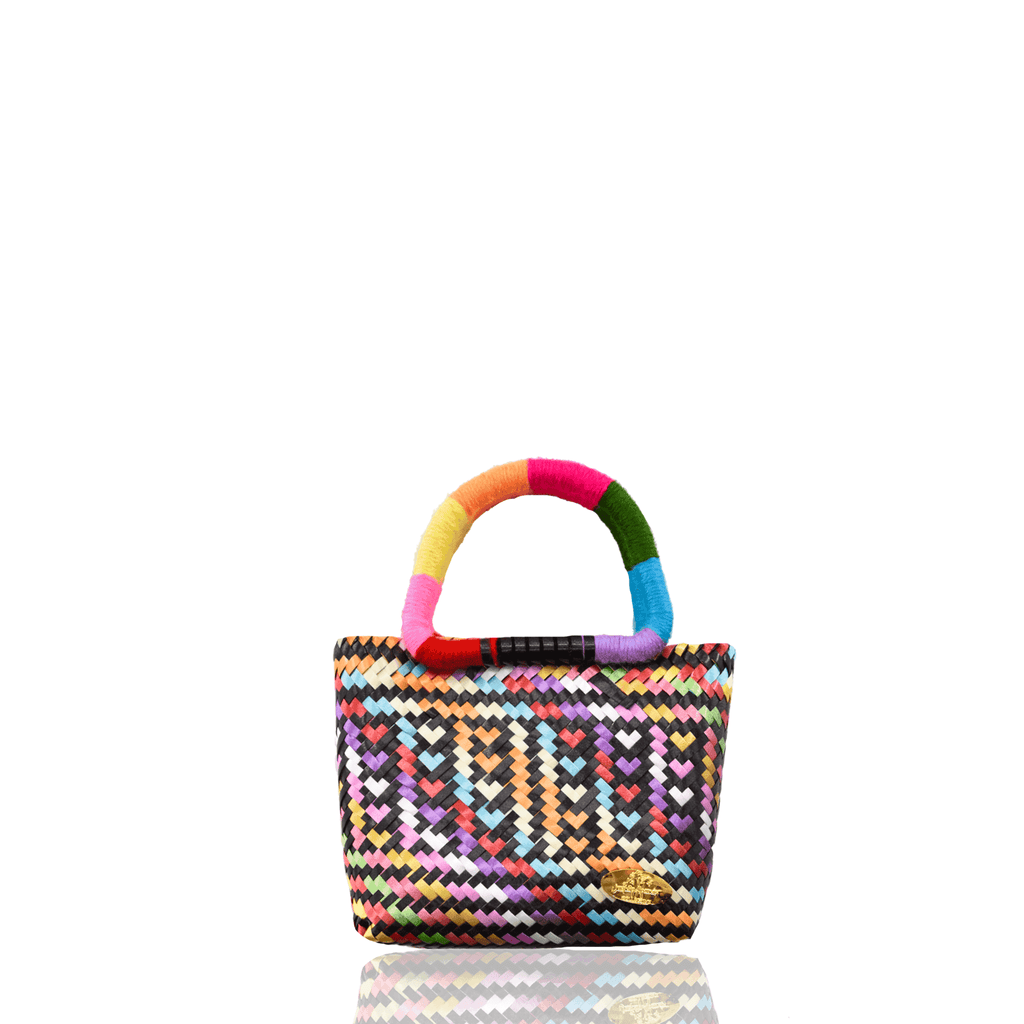 Meli Bag in Rainbow Heart - Small - Josephine Alexander Collective