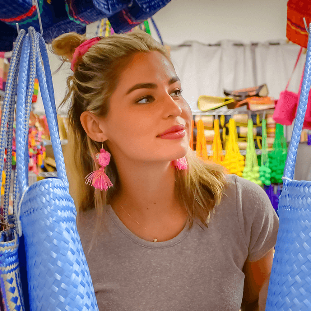The Love-ly Earrings in Apple- Small - Josephine Alexander Collective