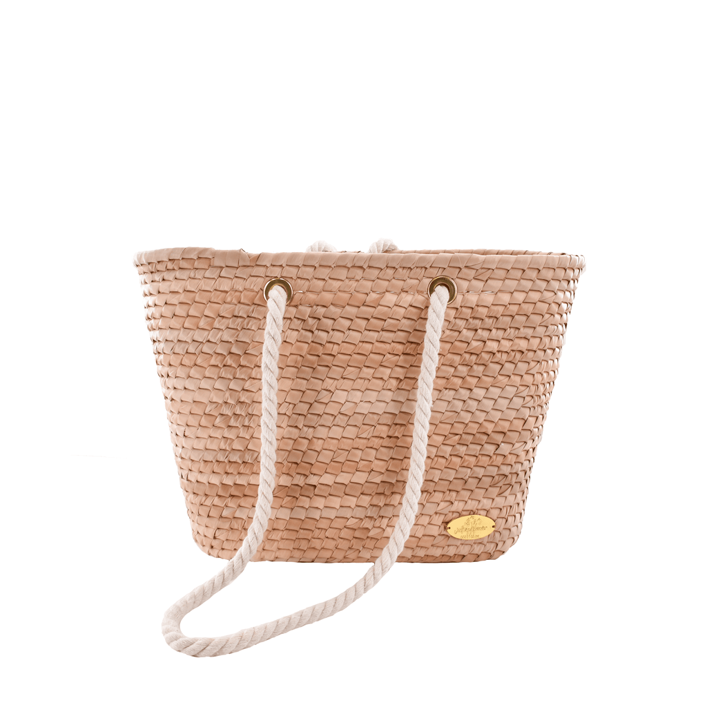 Marina Straw Bucket Bag - Josephine Alexander Collective