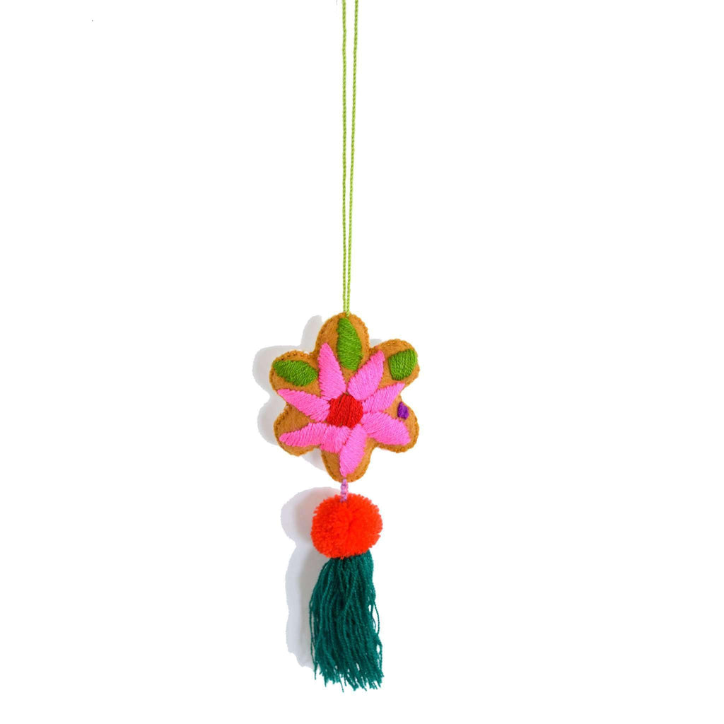 Martha Flower Tassel in Mate - Josephine Alexander Collective