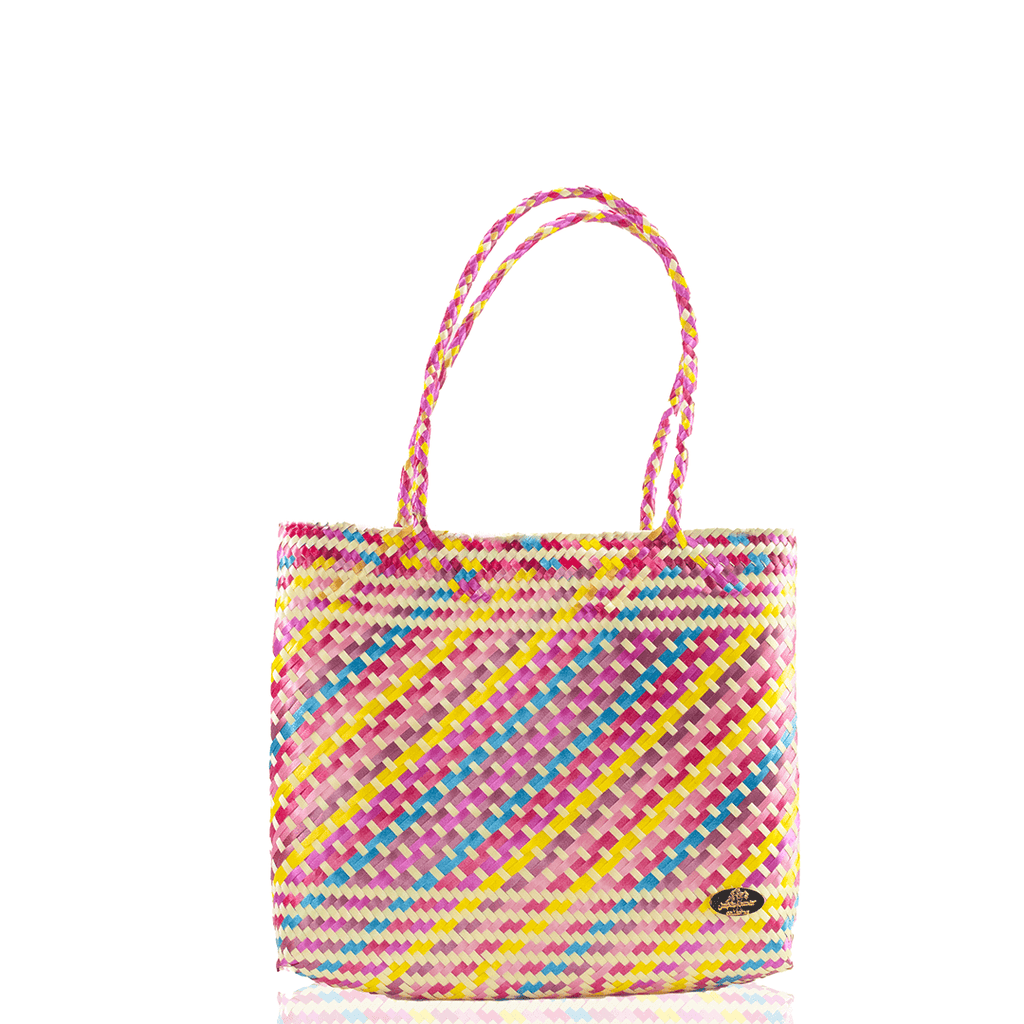 Chila Woven Bag - Multi Pink - Josephine Alexander Collective
