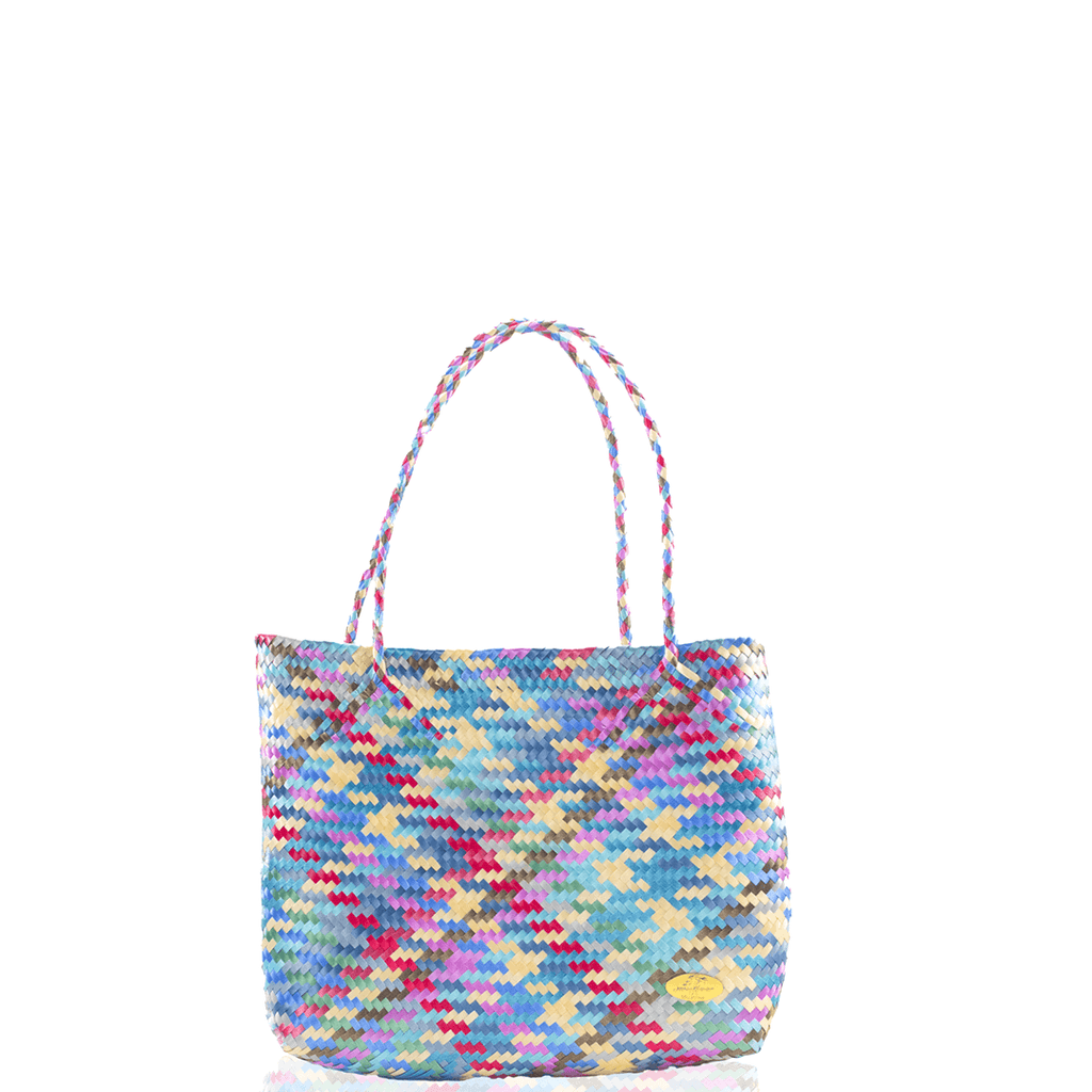 Chila Woven Bag - Multi Turquoise - Josephine Alexander Collective