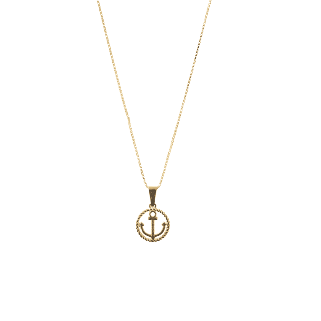 Gold Sail Away Necklace - Josephine Alexander Collective