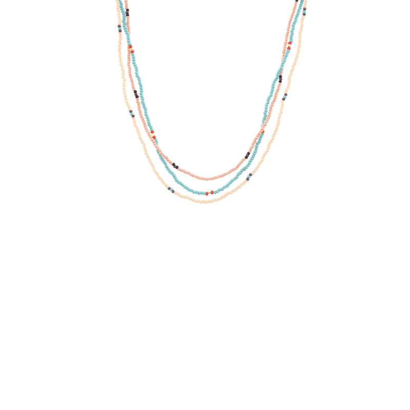 Surfer Beaded Necklace Stack - Josephine Alexander Collective