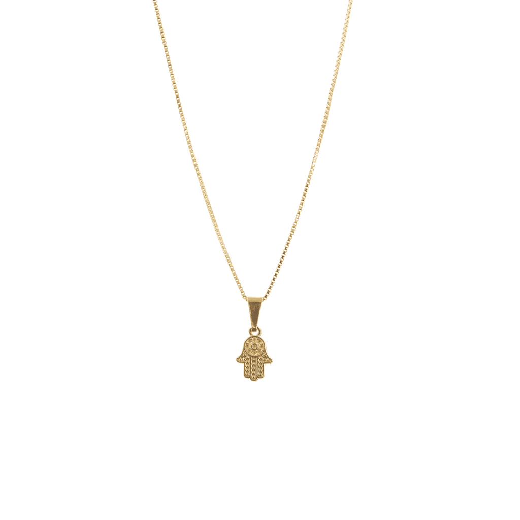 Gold Hand of the Goddess Necklace - Josephine Alexander Collective