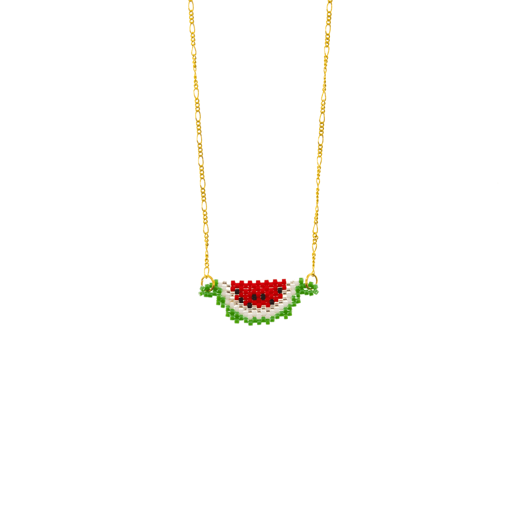 Fruity Watermelon Necklace - Josephine Alexander Collective