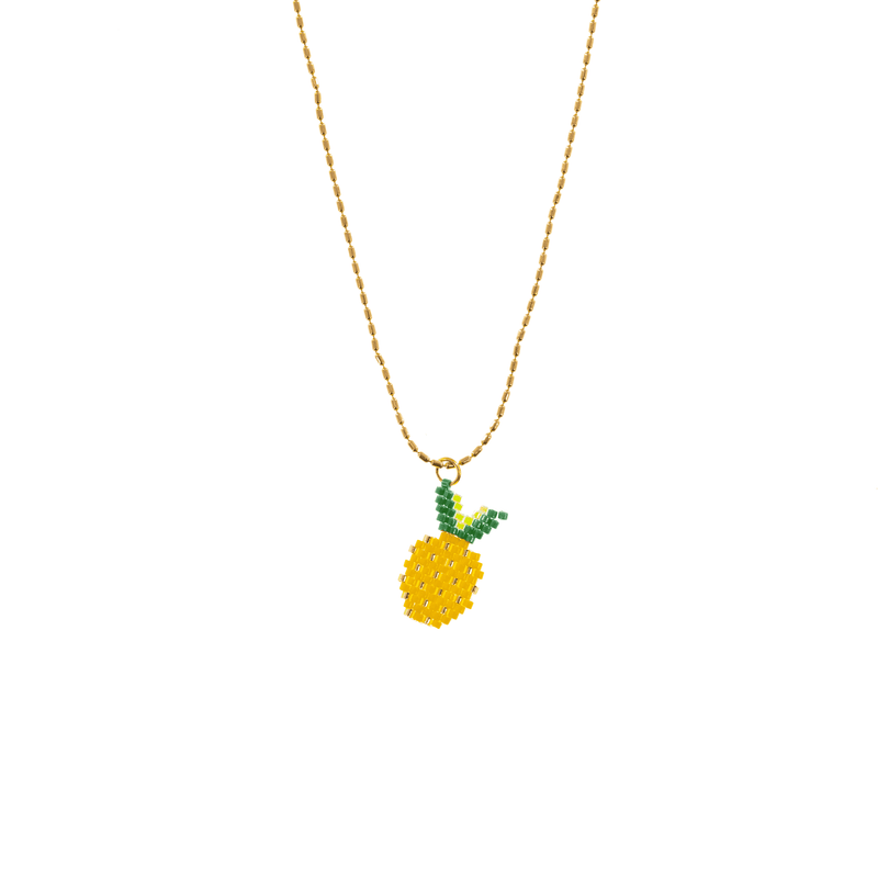 Fruity Pineapple Necklace - Josephine Alexander Collective